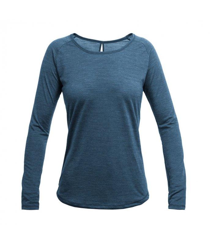 Vlněné tričko s dlouhým rukávem Devold Juvet