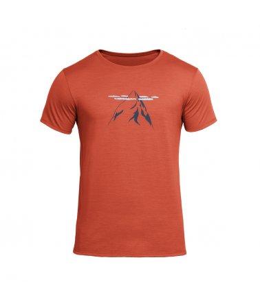 Lehké vlněné tričko s krátkým rukávem  Devold Nipa