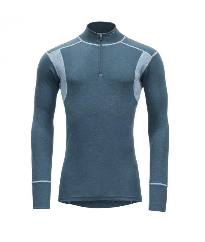 Pánské sportovní lehké vlněné tričko s rolákem Devold Hiking