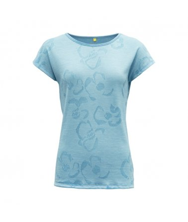 Vlněné tričko s krátkým rukávem Devold Fagerlia