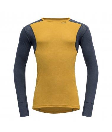 Pánské sportovní lehké vlněné triko s dlouhým rukávem Devold Hiking