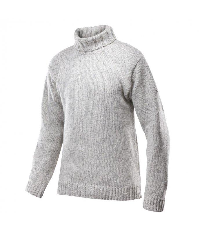 Klasický teplý vlněný svetr s rolákem Devold Nansen
