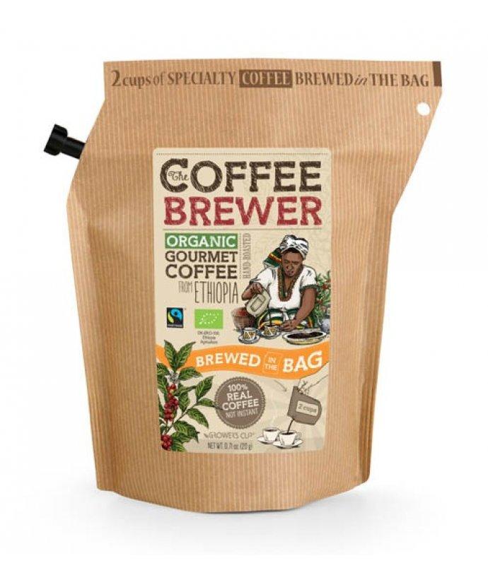 Certifikovaná organická Fairtrade káva , Ethiopia
